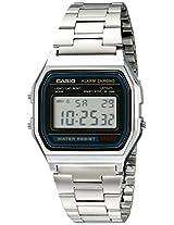 Casio Youth Grey Dial Men's Watch - A158WA-1DF (D011)