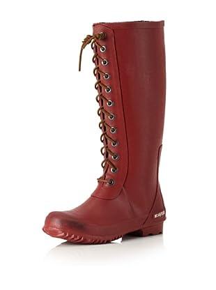 SeaVees Women's Off Shore Full-Length Rain Boot (Brick)