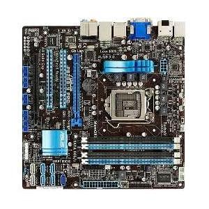 【クリックで詳細表示】ASUSTek マザーボード Intel LGA1155/DDR3メモリ対応 M-ATX P8Z68-M PRO