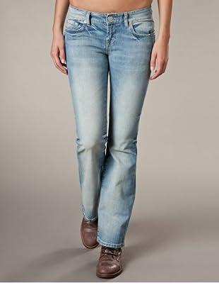 LTB Jeans Roxy Flare Mid Rise (Hellblau/Grau)