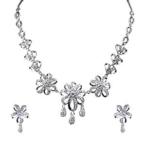 Pearl Paradise Cz Pearl Necklace