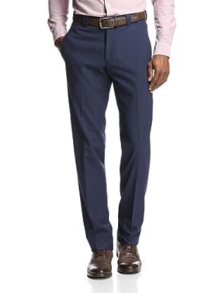 Incotex Ivory Men's Flannel Cotton Trouser (Midnight)
