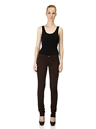 J Brand Hose Japanese Twill Low Rise Pencil Leg (Suede)
