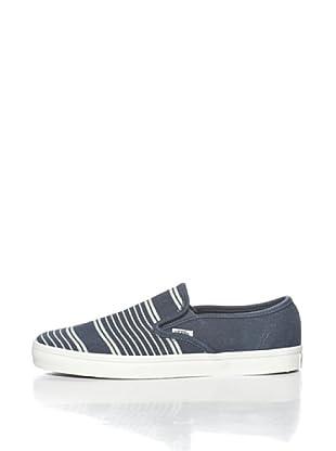Vans U Lp Alpargatas Slip Stripes (Azul Marino)