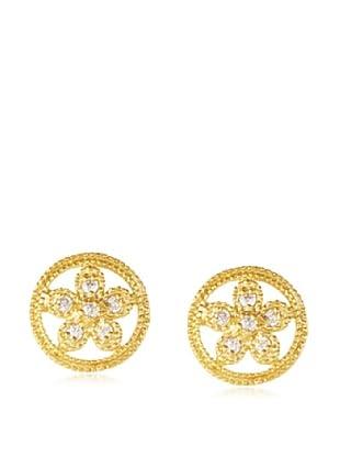 Belargo Medallion Flower Earrings
