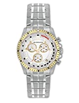Giordano Chronograph White Dial Men's Watch - 1567-44