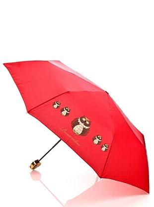 Braccialini Ombrello Gufo rosso