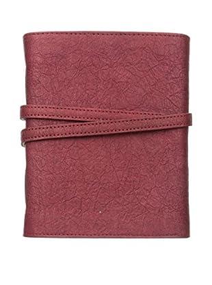 Marina Vaptzarov Medium Vegetal Leather Cover Travel Diary, Red