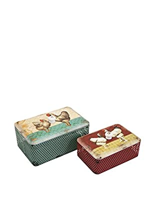 Set of 2 Ruthie Boxes