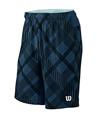 Wilson Short M Stretch Woven 9 Plaid
