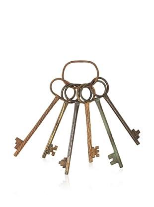 Metal Multi Key Wall Décor