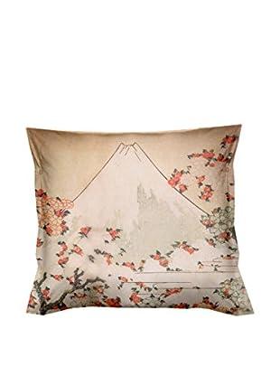 JAPAN MANIA by MANIFATTURE COTONIERE Abwaschbares Kissen Fuji