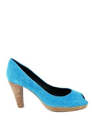 Eye Shoes Zapatos Peep Toe (Azul Cielo)