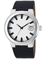 Q&Q Regular Analog White Dial Men's Watch - Q740J311Y