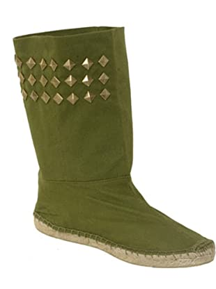 Vikingas Alpargatas yutes Bea verde/caqui (verde / caqui)