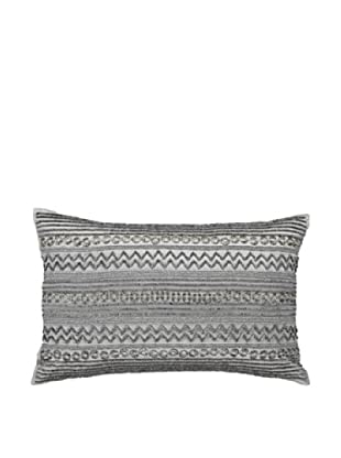Steele Rings Pillow, Silver, 14