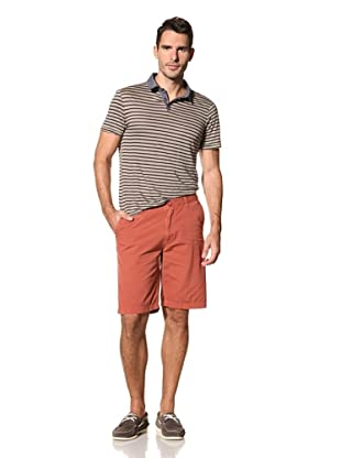 nüco Men's Canvas Club Shorts (Red)