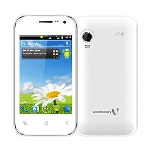Videocon A15 Dual SIM Mobile Phone - White