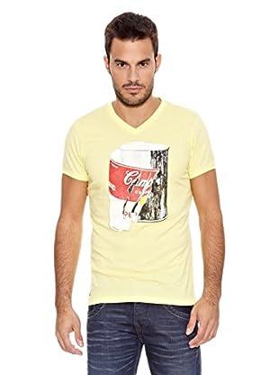 Pepe Jeans London Camiseta Shot (Amarillo Claro)