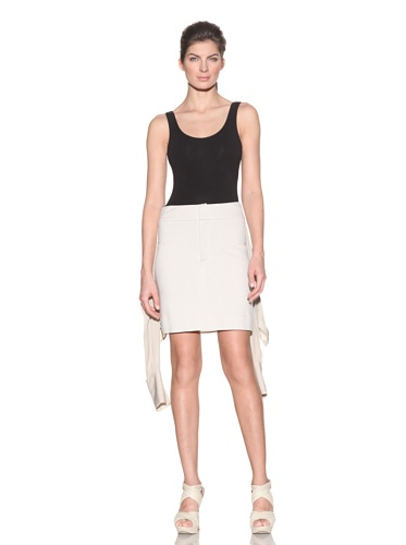 VPL Women's Dual Knit Skirt (Alabaster)