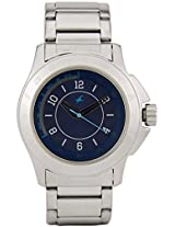 3075Sm02 Silver / Blue Analog Watch