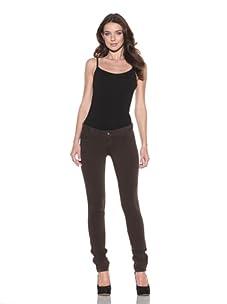 DL 1961 Premium Denim Women's Britney Skinny Zipper Jean (Bourbon)