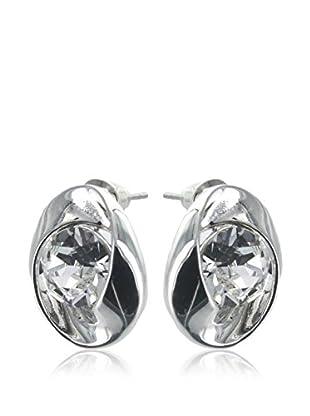 Crystal from Swarovski Ohrringe transparent/silberfarben