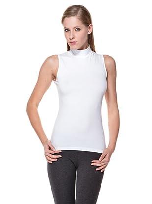 Cotonella Camiseta SM Cuello Alto (blanco)