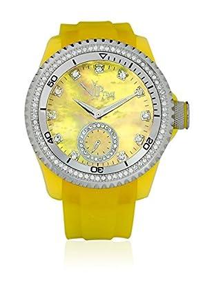 Vip Time Italy Uhr mit Japanischem Quarzuhrwerk VP8021YW_YW gelb 43.00  mm