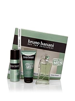 Bruno Banani Estuche Made For Men Edt 30 ml + Gel 50 ml + Desodorante 50 ml