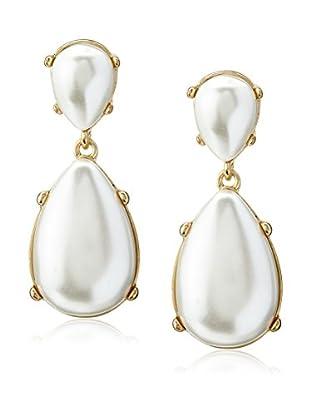 Kenneth Jay Lane Faux Pearl Drop Earrings