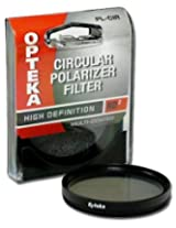Opteka High Definition II Multi-Coated Circular OPT CPL 67mm Polarizing Glass Filter