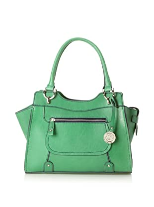 London Fog Women's Knightsbridge Small Tote Bag (Kelly Green)