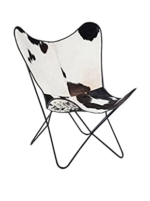 JLINE Stuhl schwarz/weiß