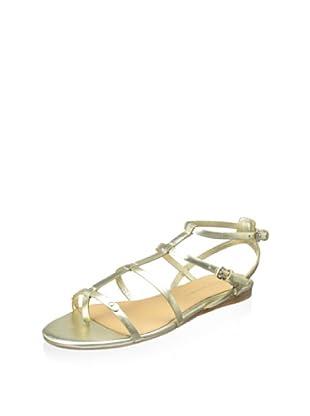 Badgley Mischka Women's Trista Gladiator Sandal (Platino)