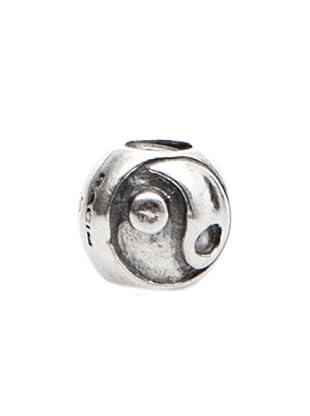 Bacio Abalorio de Plata de Ley 925  Ying-Yang Rosca