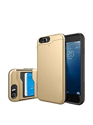 iPhone 6 Plus Slim Armor Sliding Card Case, Gold