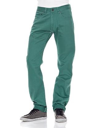 Springfield Pantalón S1 5P (Verde)