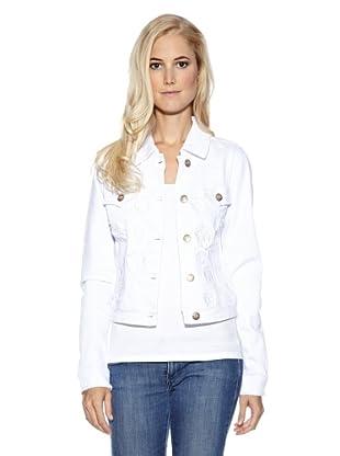 Cream Jeansjacke Peace (Weiß)