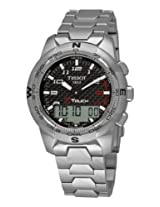 Tissot Analog-Digital Black Dial Men's Watch - T0474204420700