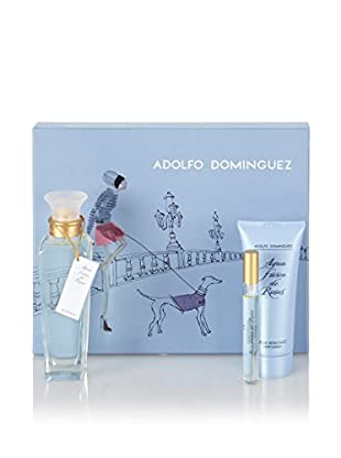 Adolfo Dominguez Estuche Agua Fresca De Rosas Edt 120 ml + Loción Corporal Hidratante 100 ml + Edp 10 ml
