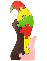 Skillofun Take Apart Puzzle Large - Parrot, Multi Color