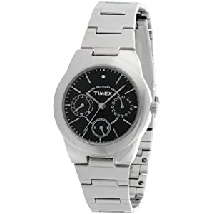 Timex E Class Analog Black Dial Women's Watch - J104