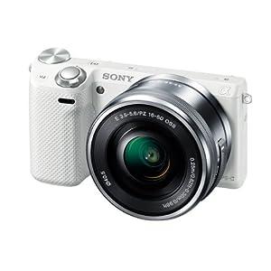 ソニー デジタル一眼カメラ α NEX-5Rズームレンズキット ホワイト NEX-5RL/W