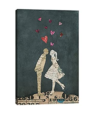 Courtney Prahl Cute Couple I Canvas Print