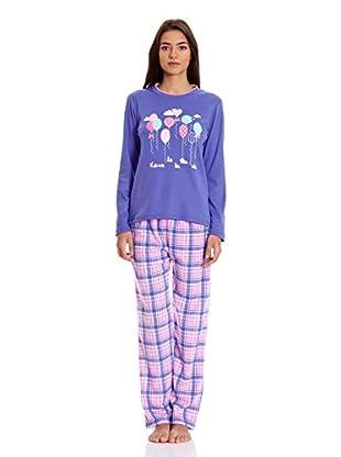 Tress Pijama Señora (Azul)