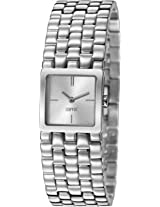 Esprit Lone Analog Watch For Women Silver ES106102002