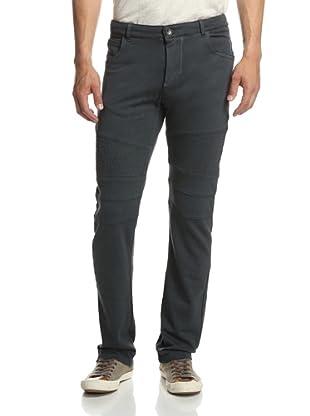 Rogue Men's Solid Moto Sweatpant (Charcoal)