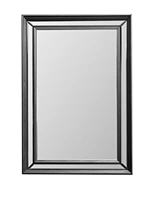 Abbyson Living Calyposa Rectangle Wall Mirror, Silver