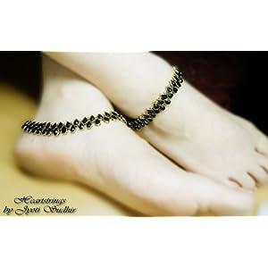 Black anklet